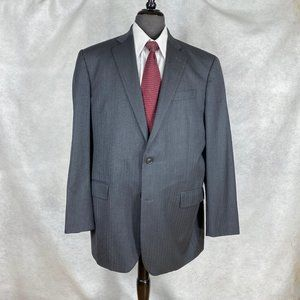 Brooks Brothers Saxon gray wool Herringbone blazer